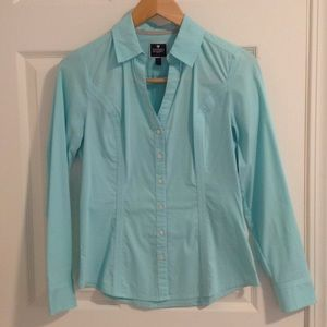 Express fitted essential shirt